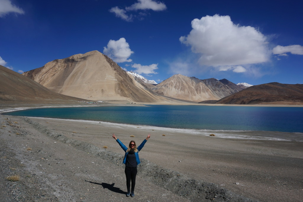 Pangong Lake in Ladakh (4350m) - India
